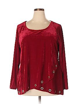 Belldini Long Sleeve Blouse Size 2X (Plus)