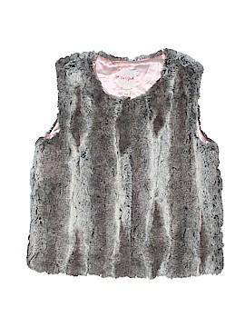 Cat & Jack Faux Fur Vest Size 14 - 16