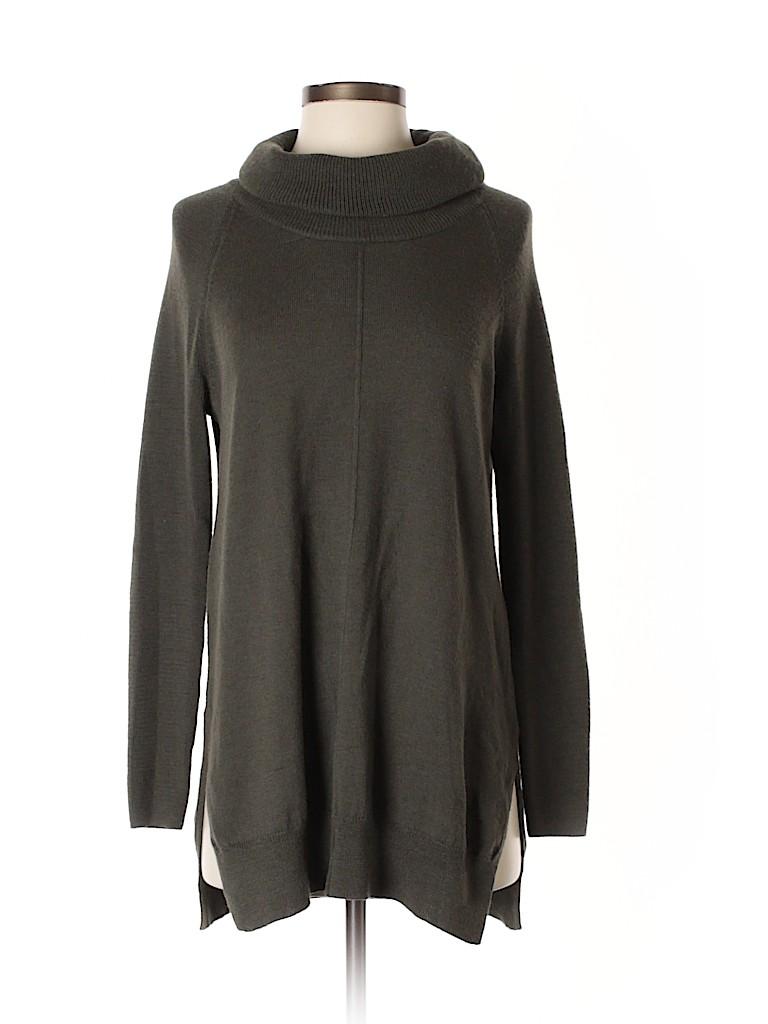 4e844954715 Cynthia Rowley TJX 100% Merino Extra Fine Wool Solid Dark Green Wool ...
