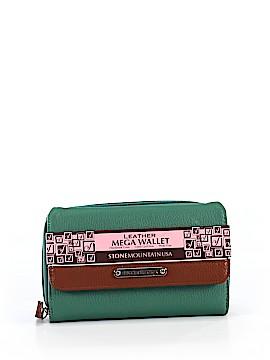 Stone Mountain Leather Wallet One Size