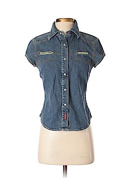 Guess Short Sleeve Button-Down Shirt Size M