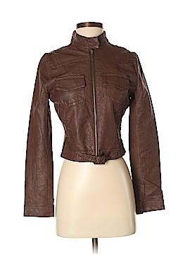 Converse Faux Leather Jacket Size XS