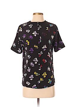 Diane von Furstenberg Short Sleeve Button-Down Shirt Size P