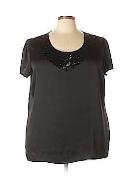 Apostrophe Short Sleeve Blouse Size 24 - 26W (Plus)