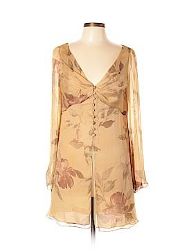 Carmen Marc Valvo Collection Long Sleeve Blouse Size 10