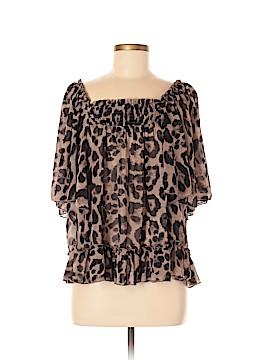 Cecico Short Sleeve Blouse Size M