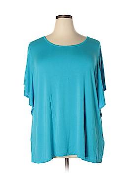 Avenue Short Sleeve Top Size 26 - 28 Plus (Plus)