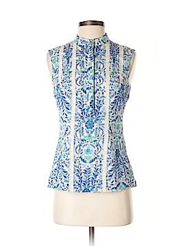 Tory Burch Sleeveless Silk Top Size 2