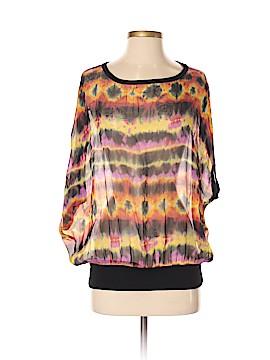 Fifteen Twenty Short Sleeve Silk Top Size S