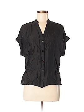 Vivienne Vivienne Tam Short Sleeve Silk Top Size M