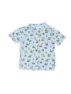 JoJo Maman Bebe Short Sleeve Button-Down Shirt Size 18-24 mo