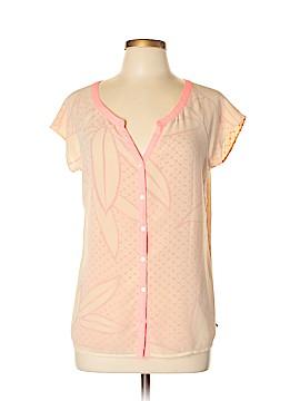 Maison Scotch Short Sleeve Blouse Size Lg (3)