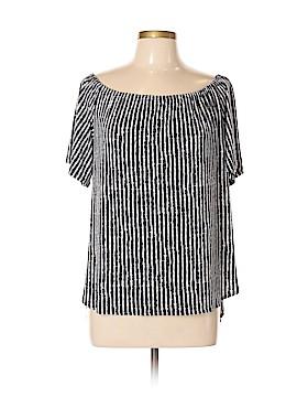 Clara Sun Woo Short Sleeve Blouse Size L