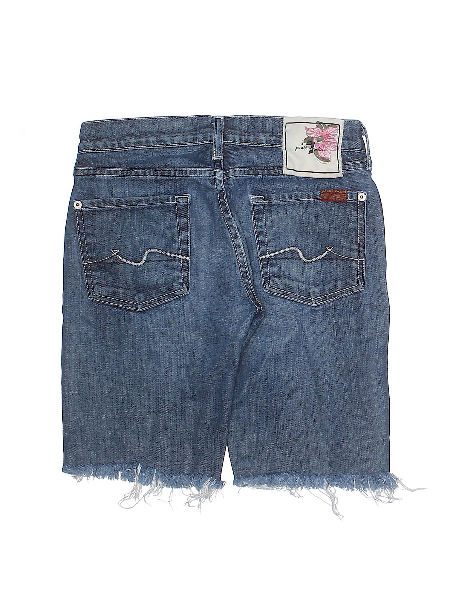 Leisure All Denim Shorts For winter 7 Mankind qwqZTp6