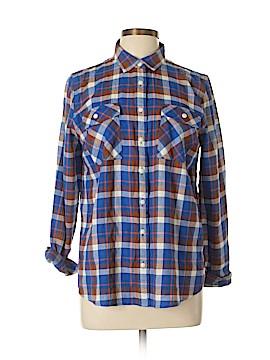 J. Crew Long Sleeve Button-Down Shirt Size 12 (Petite)