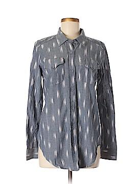 Kavu Long Sleeve Button-Down Shirt Size S