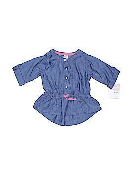 Carter's 3/4 Sleeve Button-Down Shirt Size 12 mo