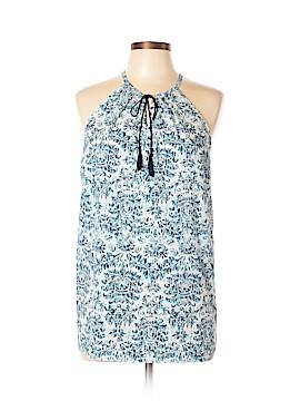 Fleur bleue Sleeveless Blouse Size L