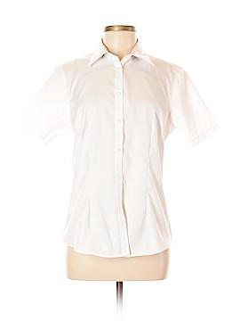 Van Heusen Sleeveless Button-Down Shirt Size 8 - 10