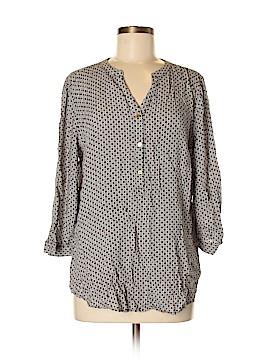 Grand & greene 3/4 Sleeve Button-Down Shirt Size M