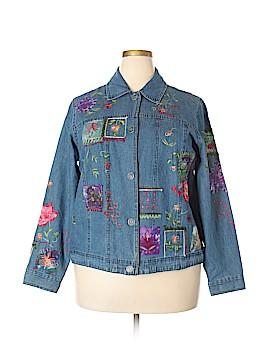 Coldwater Creek Denim Jacket Size 1X (Plus)