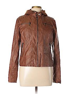 Maralyn & Me Faux Leather Jacket Size L