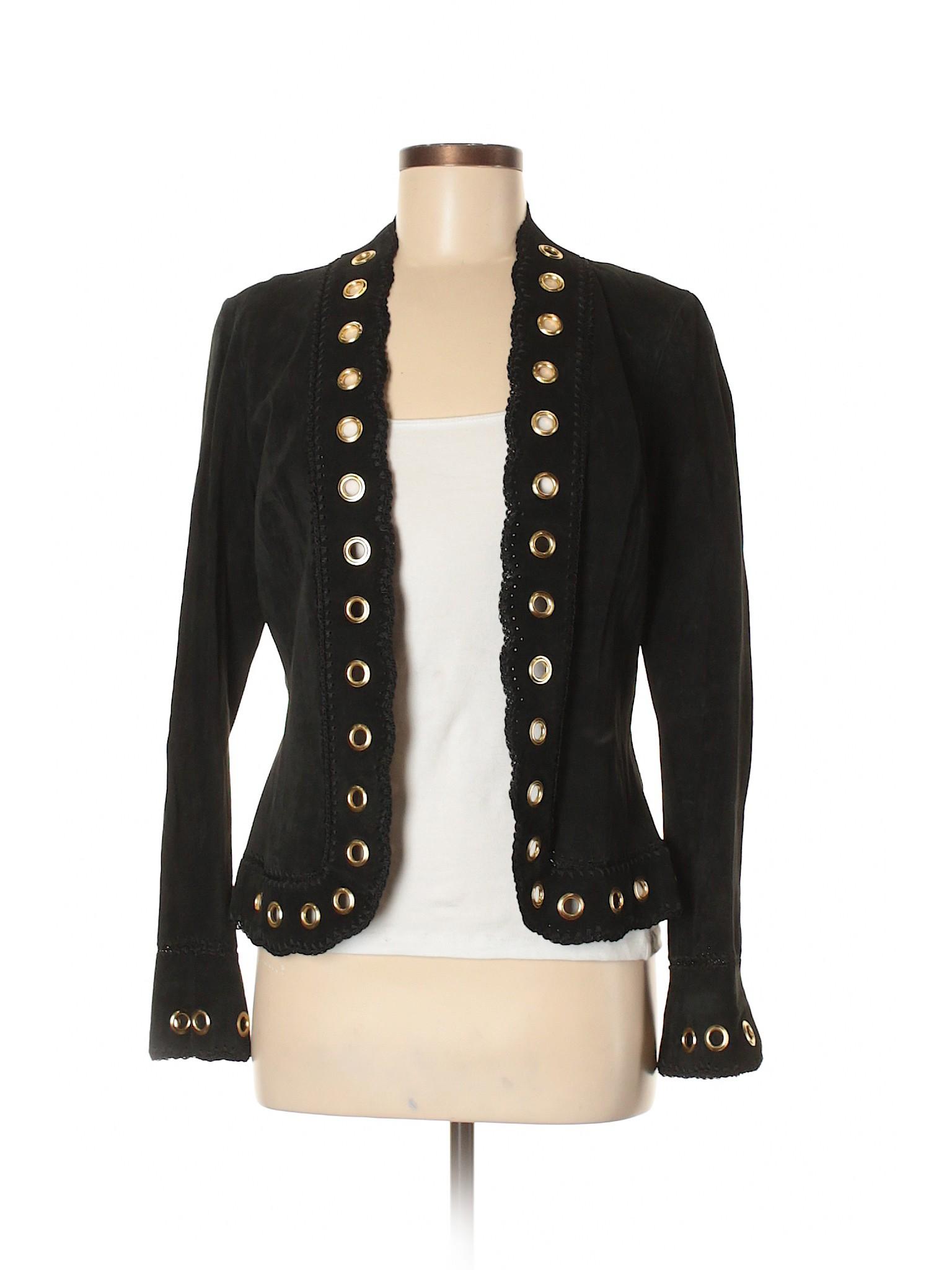 Jacket Cache Boutique leisure leisure Boutique Leather wxxXr7Ztq