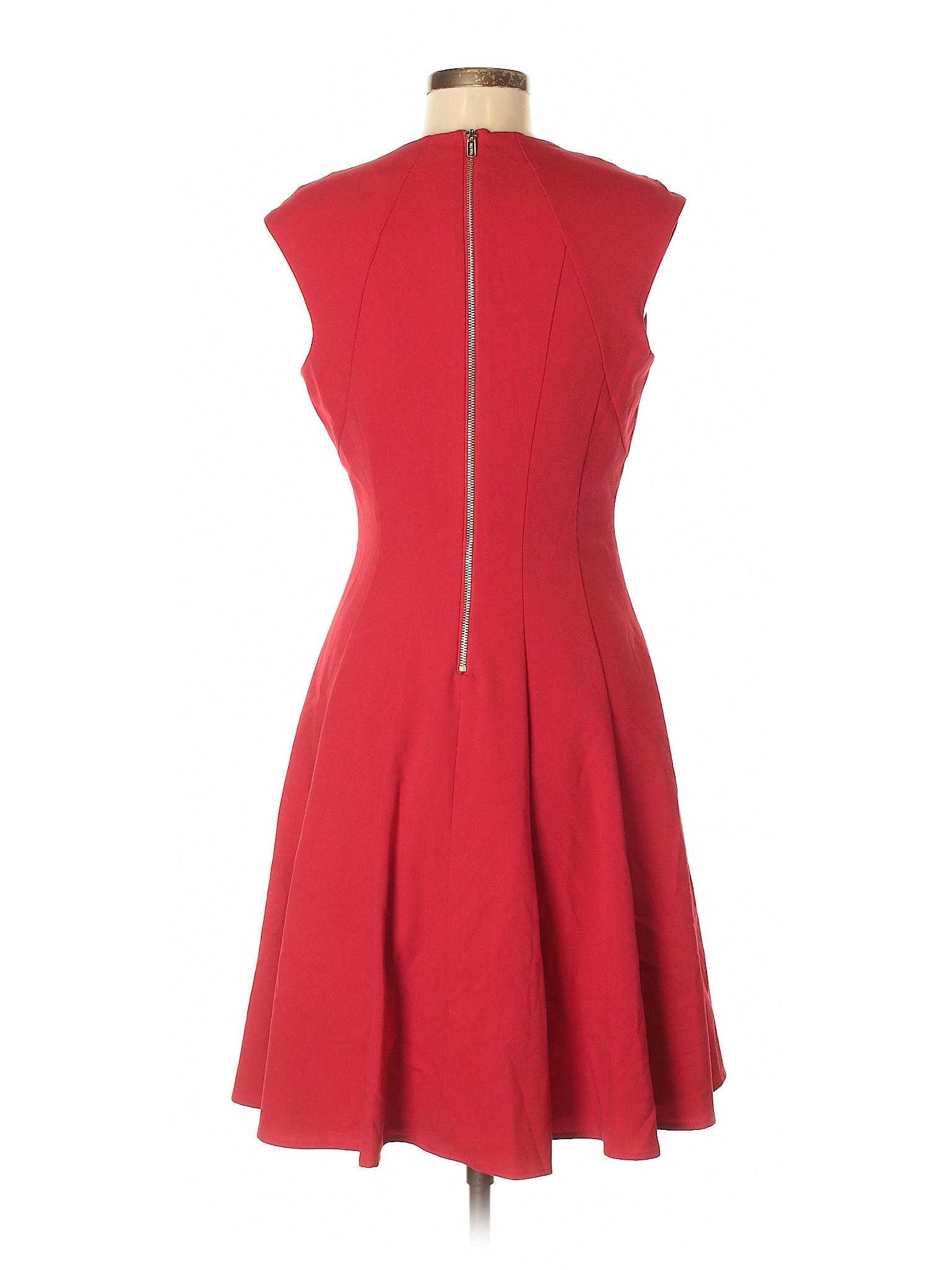 Klein winter Dress Calvin Boutique Casual EqH6wf