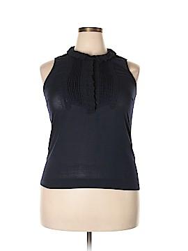 J. Crew Factory Store Sleeveless Button-Down Shirt Size 12
