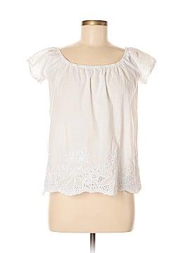 Miami Style Short Sleeve Blouse Size M