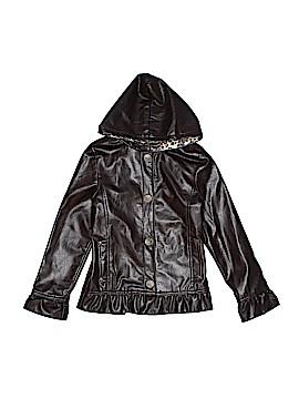 Bongo Faux Leather Jacket Size 10 - 12