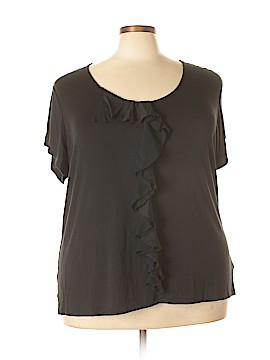 Isaac Mizrahi Short Sleeve Top Size 3X (Plus)