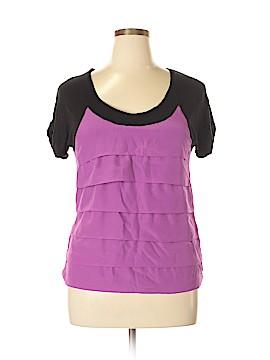 NY&C Short Sleeve Blouse Size L