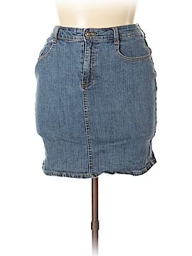 Jeanbay Jeans Denim Skirt Size 12