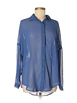 La Classe Couture Long Sleeve Blouse Size M