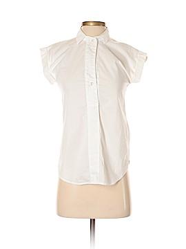J. Crew Short Sleeve Button-Down Shirt Size 00 (Petite)