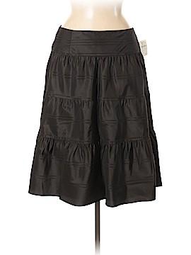 Carmen Carmen Marc Valvo Silk Skirt Size 8