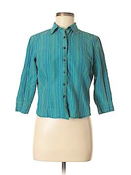 Ann Taylor LOFT Long Sleeve Silk Top Size 6 (Petite)