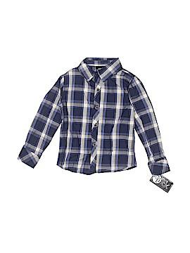 Boys Rock Long Sleeve Button-Down Shirt Size 3T