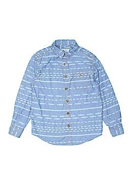 Cherokee Long Sleeve Button-Down Shirt Size 6