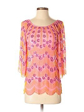 Antik Batik 3/4 Sleeve Silk Top Size 38 (IT)
