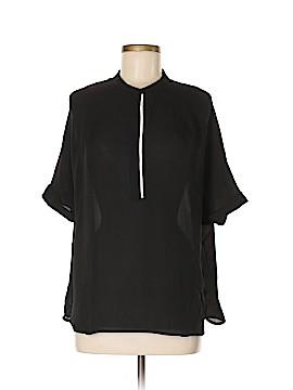 Vince. Short Sleeve Silk Top Size S