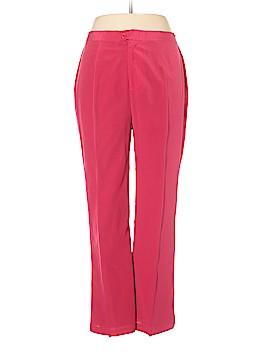Diane Gilman Silk Pants Size 12