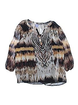 Laura Scott Long Sleeve Blouse Size XL