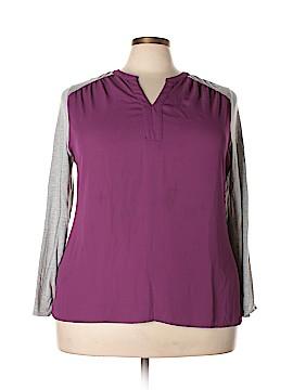 Sejour Long Sleeve Top Size 2X (Plus)