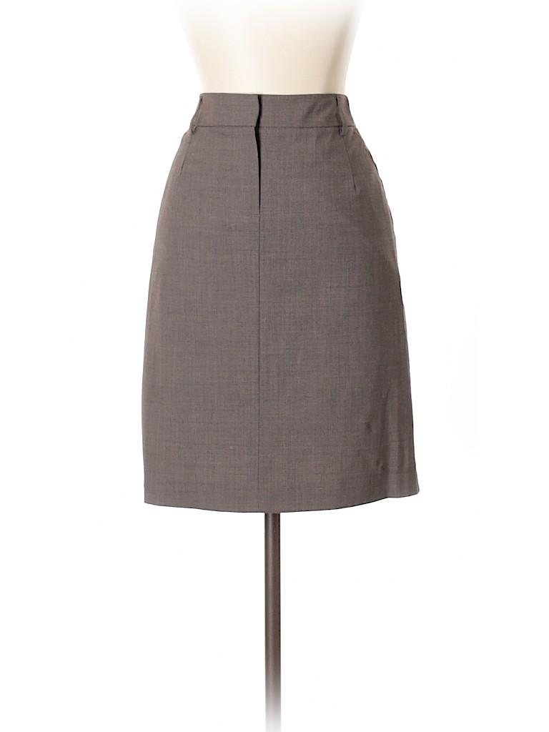 Theory Women Wool Skirt Size 4