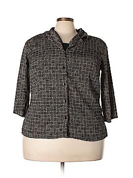 Elementz Long Sleeve Blouse Size 2X (Plus)