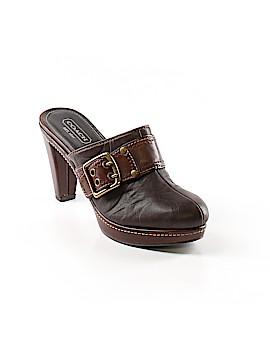 Coach Mule/Clog Size 8 1/2