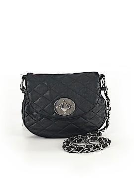 Black Poppy Crossbody Bag One Size