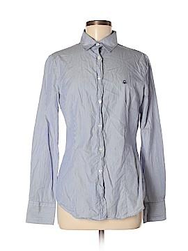 Stile Benetton Long Sleeve Button-Down Shirt Size M